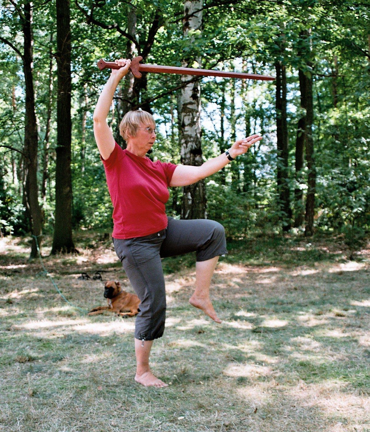 Schwert-Training für Frauen